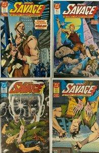 Doc Savage PULP 1st series set:#1-4 8.0 VF (1987)