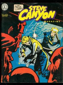 STEVE CANYON MAGAZINE #5 1984-MILTON CANIFF COMIC ART FN
