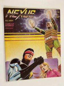 Nexus with Record #3 Capital Comics 6.0 FN (1982)