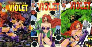 EXTREMES OF VIOLET (1995 BLACK OUT) 0-2  COMPLETE!
