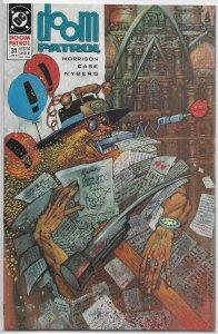 Doom Patrol (vol. 2, 1987) #31 FN Morrison/Case, Cult of the Unwritten Book