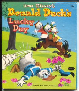 Donald Duck's Lucky Day #2419 1951-Whitman-Tell-A-Tale-39¢ cover price-VG/FN