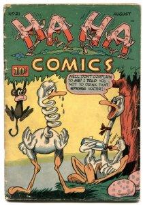 Ha Ha #21 1945-ACG Golden Age funny animals VG-