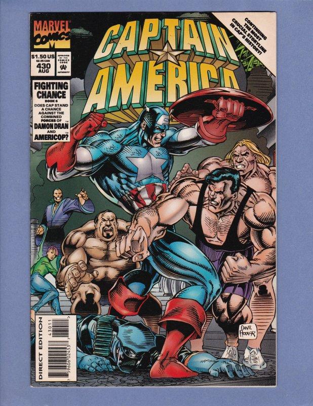Captain America #393-395 #397 #399 #400 #401-405 #429 #430 Annual #9