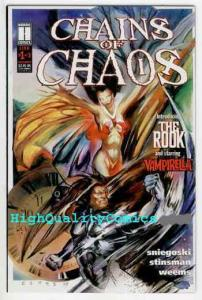 CHAINS OF CHAOS #1, NM+, Vampirella, Rook, 1994, Vampire, more Indies in store