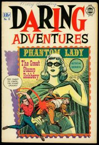 Daring Adventures #12 1963- super comics- Phantom Lady Matt Baker reprints VG