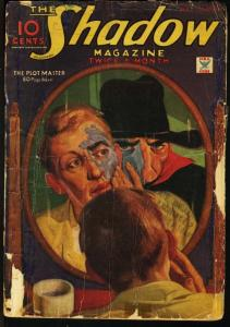SHADOW 1935 FEB 1-STREET AND SMITH PULP-RARE FR