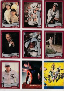 Eight Men Out/Daredevil/Legionnaires Trading Cards