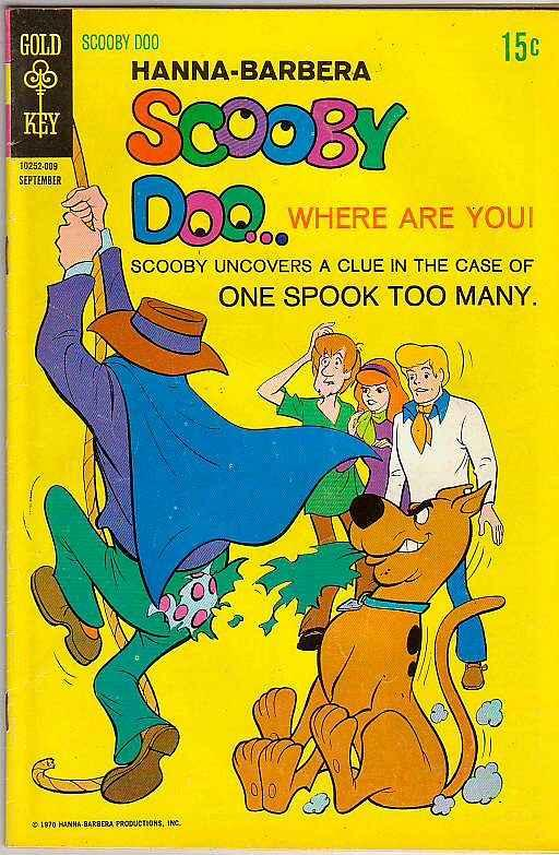 Scooby Doo #3 (Sep-70) VF+ High-Grade Scooby Doo