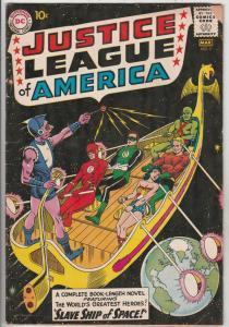 Justice League of America #3 (Mar-60) VG/FN Mid-Grade Justice League of Ameri...