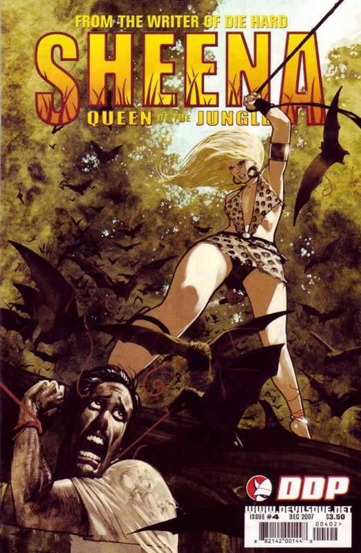 Sheena, Queen of the Jungle (Devil's Due) #4B VF/NM; Devil's Due | save on shipp
