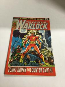 Warlock 2 The Power Of Vg/Fn Very Good/Fine 5.0 Marvel
