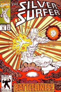 Silver Surfer (1987 series) #62, NM (Stock photo)
