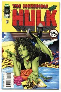Incredible Hulk #441 SHE-HULK PULP FICTION HOMAGE COVER NM-