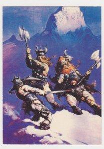 1991 Comic Images Frazetta #16 Snow Giants