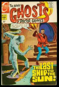 THE MANY GHOSTS OF DOCTOR GRAVES #20 1970-CHARLTON COMICS-DITKO ART- FN-