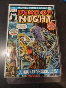 Dead of Night #1 (1973) JACK KIRBY COVER HIGH GRADE