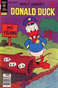 Donald Duck (1940 series) #186, Good (Stock photo)