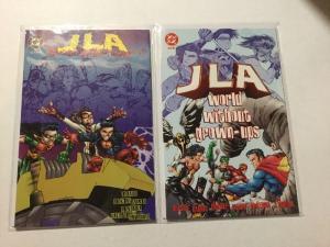 JLA World Without Grown-Ups 1 & 2 NM Near Mint