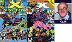 X FACTOR 77-78  Peter David  Mr Sinister & STRYFE
