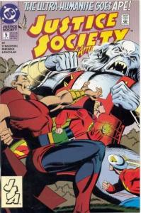 Justice Society of America (1992 series) #5, VF (Stock photo)