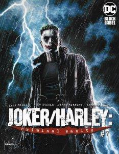Joker Harley Criminal Sanity #7 Suayan Variant (DC, 2021) NM
