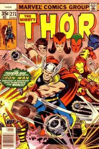 Thor (1966 series) #271, VF- (Stock photo)