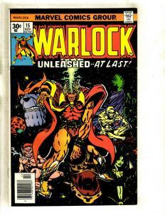 Warlock # 15 NM- Marvel Comic Book Thanos Avengers Hulk Thor Gamora Pip GK4