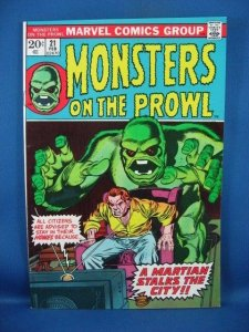 Monsters on the Prowl #21 (Feb 1973, Marvel) VF