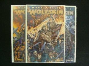 Wolfskin #1-3 Complete Set Run Avatar Press Warren Ellis