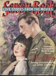 Screen Book-#2-Colleen Moore-Gary Cooper-Rudolf Valentino-Sept-1928