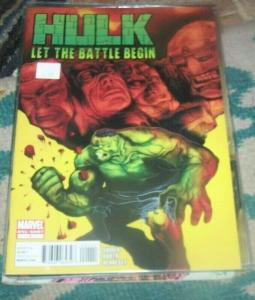 HULK- LET THE BATTLE BEGIN -#1 ONE SHOT 2010+WRECKING CREW WW HULK
