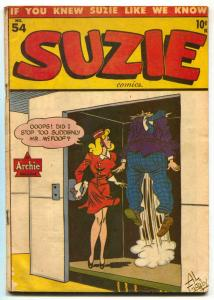 Suzie #54 1946- ARCHIE COMICS- good girl art- VG+