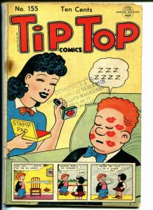 Tip Top #155 1949-Nancy-Fritzi Ritz-Ernie Bushmiller-Capt & Kids-FR