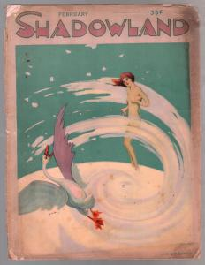 Shadowland 2/1922-Theodore Dreiser-Victor Hugo-Hollywood-early pin-ups-FR