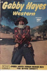 GABBY HAYES WESTERN #12 FAWCETT '49 EGYPTIAN COLLECTION VG