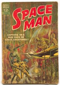 Space Man #5 1963- Dell Comics- Silver Age VG