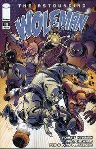 Astounding Wolf-Man, The #18 VF; Image | save on shipping - details inside