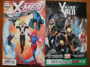 2 Near-Mint Marvel Comic: ASTONISHING X-MEN ANNUAL #1 (2018) & ALL-NEW X-MEN #2