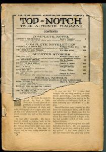 TOP-NOTCH 8/15/1916-STREET&SMITH-PULP THRILLS-pr/fr