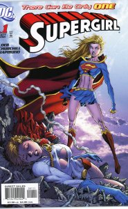 Supergirl 1 (2005)  9.0 (our highest grade)  Power Girl guest star!