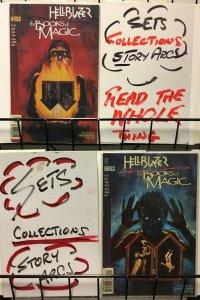 HELLBLAZER BOOKS OF MAGIC (1997 VERTIGO) 1-2  complete!