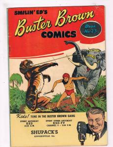 Buster Brown Comics # 23 VG/FN Buster Brown Shoes Smilin  Ed's Comics WOW!! SW10