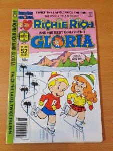 Richie Rich & Gloria #6 ~ VERY FINE VF ~ (1979, Harvey Comics)