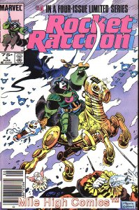 ROCKET RACCOON  (1985 Series)  (MARVEL) #4 NEWSSTAND Very Good Comics Book