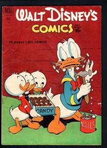 WALT DISNEY'S COMICS AND STORIES #133-1951-DONALD DUCK-MICKEY-CARL BARKS A VG