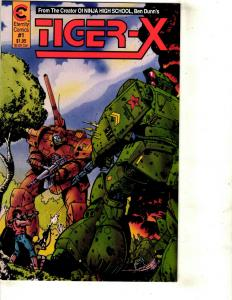 Lot of 15 Mixed Comics Tiger-X And Total Eclipse JF5