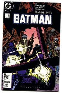 BATMAN #406-1987-DC Year one story line gotham tv comic book