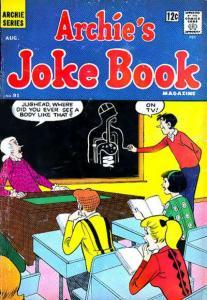Archie's Joke Book Magazine #91, VG (Stock photo)