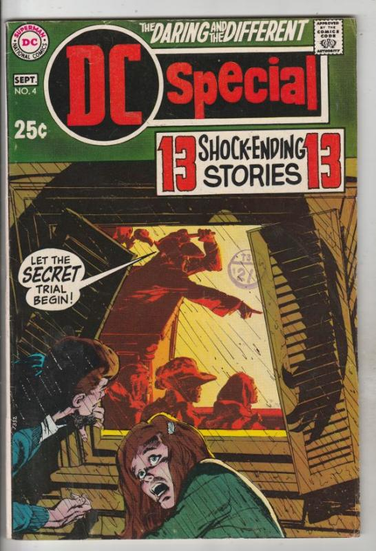 DC Special #4 (Sep-69) FN/VF+ Mid-High-Grade Mad Mod Witch, Cain, Cynthia, Mi...
